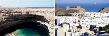 Bima Sink Hole & Muscat, Oman