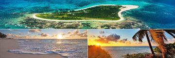 Bird Island aerial view & beachscapes