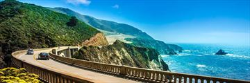 Bixby Bridge Highway One, California