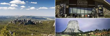 Black Hills National Park, Buffalo Bill Centre & Devils Tower