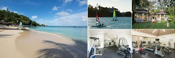 Beach, Sailing, Kids' Club and the Gym at Blue Waters