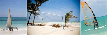 Bluebay Beach Resort & Spa, Watersports and Beach Volleyball