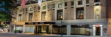 Boston Park Plaza, Exterior