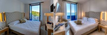 Deluxe Room and Superior Room at Boutique Hotel Helios