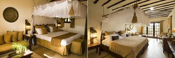 Breezes Beach Club & Spa, Standard Double and Suite Bedroom