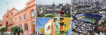 Beautiful scenery and architecture in Buenos Aires