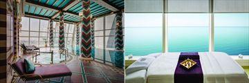 Burj al Arab Jumeirah, Spa Jacuzzi and Treatment Room