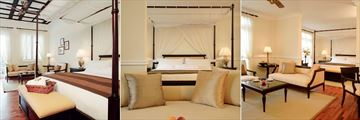Cameron Highlands Resort, (from left): Deluxe Room, Junior Suite and Two Bedroom Suite