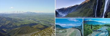 Canterbury Plains, Franz Josef & Scenic Tranz Alpine Train