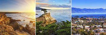 Carmel, Monterey & Santa Barbara