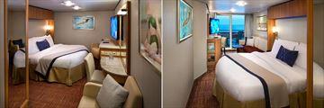 Celebrity Equinox Inside Stateroom & Veranda Stateroom