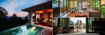 One Bedroom Ocean Facing Villa with Pool at Centara Grand Beach Resort, Krabi