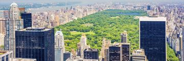 Scenic view of Central Park