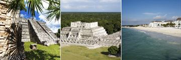 Chichen Itza & Playa Del Carmen coast