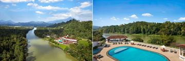 Cinnamon Citadel Kandy, Aerial View of Resort and Pool