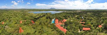 Cinnamon Lodge Habarana, Aerial View of Lodge