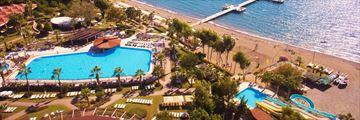 Aerial view of Club Tuana Fethiye