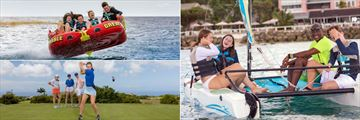 Cobblers Cove, Water Rafting, Sailing and Golf