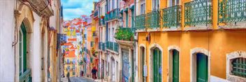 Colourful Lisbon in Portugal