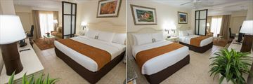 King Room and Queen Double Room at Comfort Suites Paradise Island