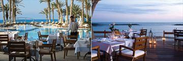 Estia Restaurant and Kymata Restaurant at Constantinou Bros Asimina Suites
