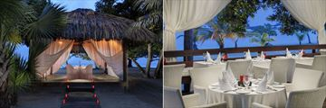 Couples Negril, Private Dinner and Beach Grill and Heliconia Restaurant