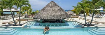 Couples Swept Away, Swim-Up Pool Bar