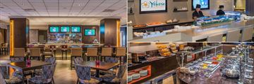Bar and Lounge, Yokoso Sushi Bar and Dining Lounge at Crowne Plaza Los Angeles Airport