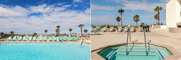 Terrace Pool and Terrace Whirlpool at Crowne Plaza Redondo Beach & Marina