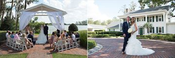Beautiful weddings at Cypress Grove