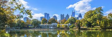 Skyline view of Atlanta