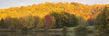 Deerhurst Resort landscape, Huntsville, Muskoka
