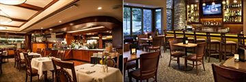 Evergreen Restaurant and Bar at Delta Hotels Banff Royal Canadian Lodge