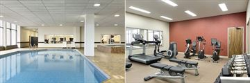 Pool and Fitness Centre at Delta Hotels by Marriott Saint John