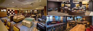 Blaze Restaurant and Lounge, Urban Bean Coffee Emporium and Elephant and Castle Restaurant at Delta Hotels by Marriott Winnipeg