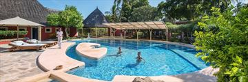 Diamonds Dream of Africa, Mvua African Rain Spa Pool