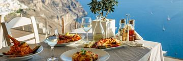 Dining in Greece