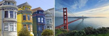 San Francisco architecture and Golden Gate Bridge