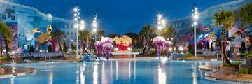 Disney's Art of Animation Resort, The Big Blue Pool