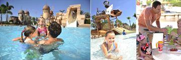 Pool Area at Disney's Caribbean Beach Resort
