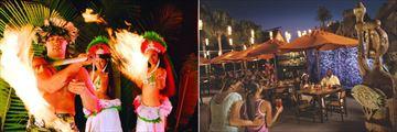 Disney's Polynesian Resort, Spirit of Aloha Dinner Show, Trader Sam's Tiki Terrace