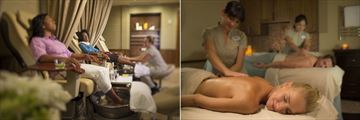 Spa Treatment Room and Massage at Disney's Saratoga Springs Resort & Spa