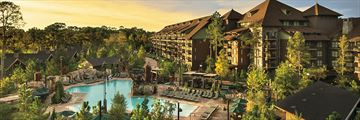 Disney's Wilderness Lodge, Exterior