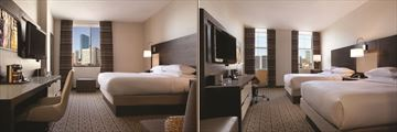 DoubleTree by Hilton Hotel Boston Downtown, City View King and City View Double