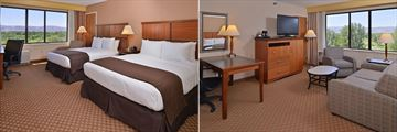 DoubleTree by Hilton Hotel Grand Junction, Double Queen Mountain View and King Junior Suite Mountain View
