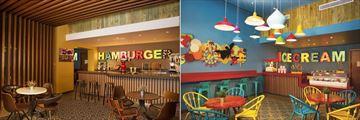 Dreams Onyx Punta Cana, On A Roll - Burger Bar and Sundaez - Ice Cream Parlour
