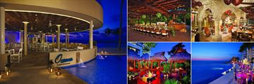 Dreams Riviera Cancun Resort & Spa, Dining Options