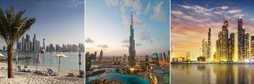 Dubai's cityscapes