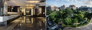 Dupont Circle, Lobby and Dupont Circle View