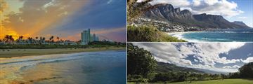 Durban at sunset, the Twelve Apostles in Cape Town and Swaziland panorama
